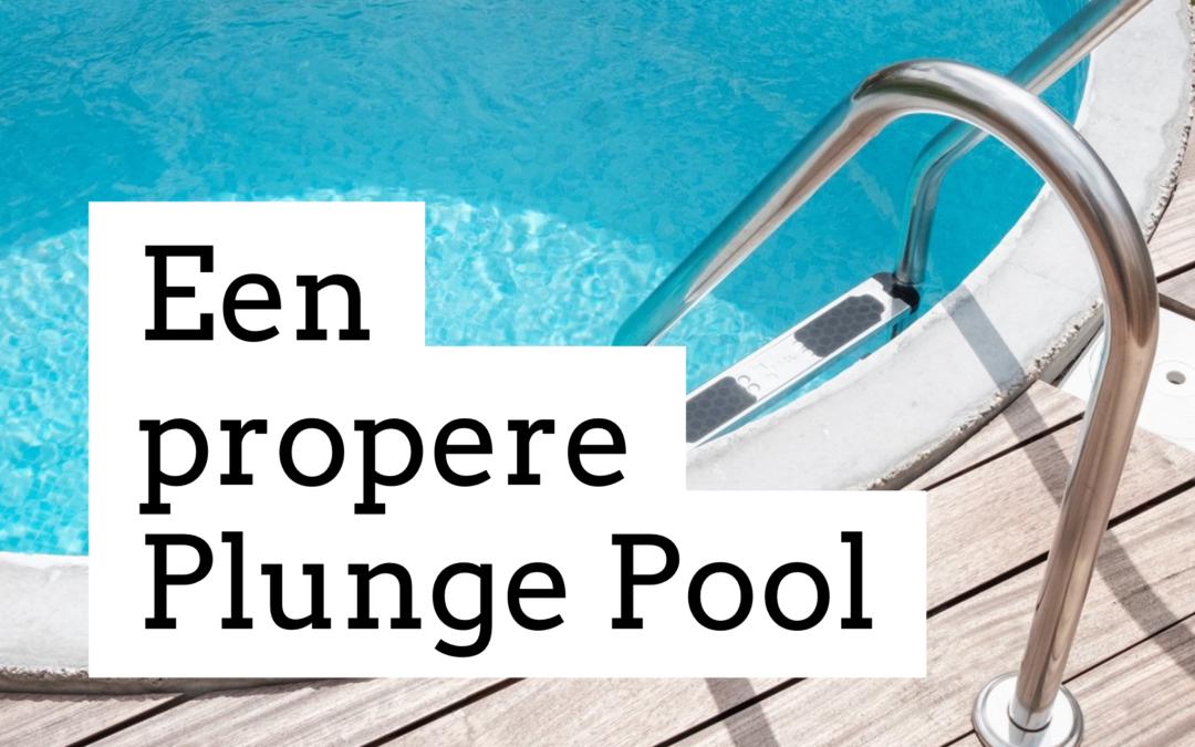 Onderhoud Plunge Pool
